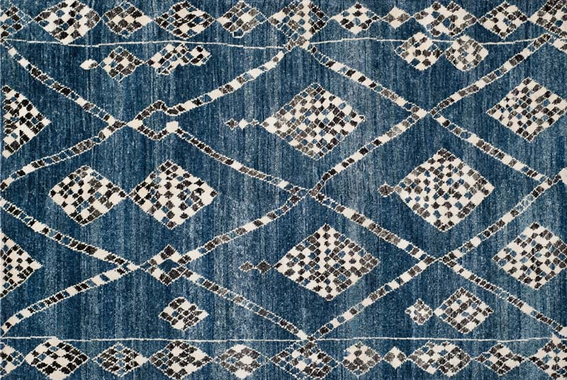 Safavieh: A shimmering tribal design handknotted in a blend of viscose and cotton from the new Moroccan collection by Safavieh. safavieh.com