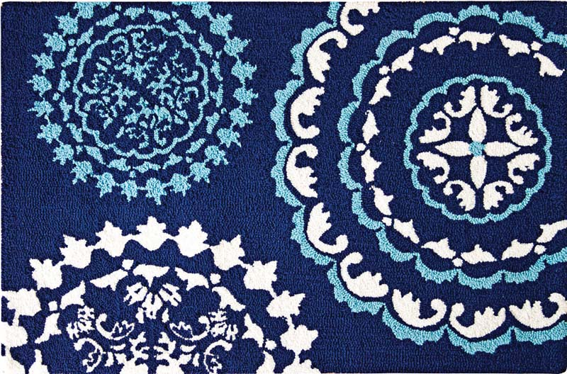 C&F Enterprises: C&F will debut seven rug designs at the show, including Zarina here, which coordinates with C&F's new bedding pattern. It's 2-by-3 and made of wool. cnfei.com