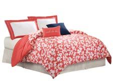 Mixed petals, in a white and coral colorway, is part of the company's Kate Spade collection. chfindustries.com