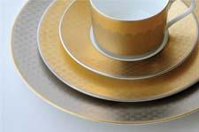 Fortune dinnerware represents a new company effort to showcase its design capability. nikkoceramics.com