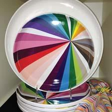 TTU launched the colorful Novogratz collection. ttucorp.com