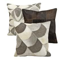 These pillows are part of the company's Mina Victory home accents line, which includes designer creations inspired by modern lifestyles. nourison.com