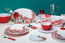 Madison Bloom presents fluid brushstrokes and uplifting florals on heavy duty melamine. qsquarednyc.com