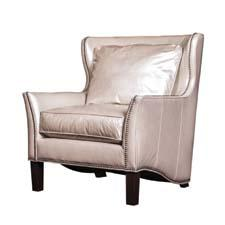 From Norwalk Furniture, the Edinburg features a frame designed with curves all around, exquisite nailhead detailing and a tall slender leg. norwalkfurniture.com