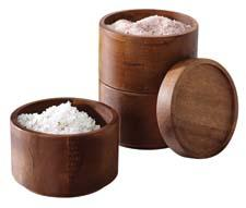 The Rachael Ray line from Meyer grows to include new kitchen accessories crafted in Acacia wood, including a Rachael Ray 3 Tier Stackable Salt Box. meyer.com