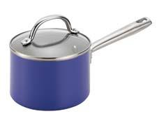 Meyer relaunches its PTFE- and PFOA-free EarthPan with SandFlow nonstick cookware line. The line is available in two versions: EarthPan Hard Anodized Aluminum and EarthPan Aluminum; the latter is available in red, purple, orange and teal. meyer.com