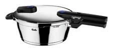Fissler will unveil its new Vitaquick pressure cookers, which feature a vibrant blue pressure indicator that offers two separate settings for gentle and speed cooking. Available in four deep cooker sizes and two pressure skillet shapes. fissler.com