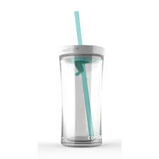 Contigo's Shake & Go completely seals the lid for shaking as soon as the straw is removed. gocontigo.com