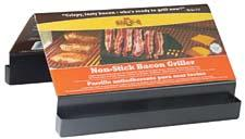 An international designer and supplier of BBQ tools, accessories and parts for more than 40 years, Mr. Bar-B-Q will show this bacon griller at the show. mrbarbq.com