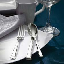 Neufane flatware is new under the Gibson Elite label. gibsonusa.com
