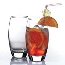 The new Monte Carlo beverage collection includes a set of four coolers, shown, or double old-fashioneds for $9.99. pasabahce.com