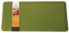 New colors, including the sage seen here, have been added to the company's Paula Deen line of anti-fatigue kitchen mats. sleepinnovations.com