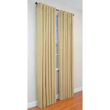 The Season Smart insulating curtain is made with 3M's Thinsulate insulation, and helps to keep a room warm in winter and cool in summer. elleryhomestyles.com