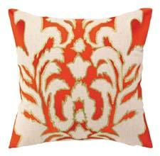 This pillow is part of the launch of the company's new collection with designer Courtney Cachet, a group designed with vibrant colors and modern prints. pkhc.com