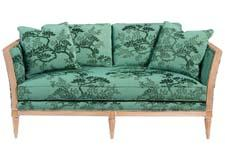 Pearson, part of Furniture Brands International, offers this sofa featuring velvet from Belgium. pearsoncompany.com