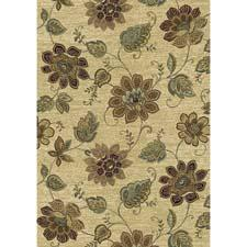Now in its 19th year of production, Dynamic Rugs' Ancient Garden collection was revitalized last year with a new eight frame traditional color creel. This pattern is in a new antique color creel. dynamicrugs.com