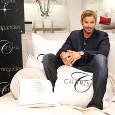 "Kellan Lutz, star of television's ""Twilight Saga,"" appeared on behalf of the Charisma bedding brand at the Bloomingdale's 59th Street store."