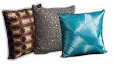 The Luminescence collection of decorative pillows is elegantly handcrafted with rhinestones, beads and embroidery. nourison.com