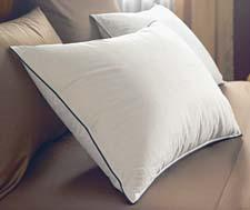 The StayLoft Pillow features a proprietary baffle-box design that keeps the down in place. pacificcoast.com