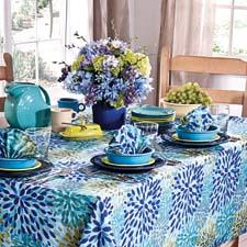 The company will launch its new collection of table linens licensed with the Fiesta brand of dinnerware. tncliving.com