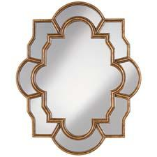 Pacific Coast Lighting will debut its first mirror line at Las Vegas Market. Items will include Anglia, a traditional look with warm-toned, gold-finish scrolls for an old English feel. pacificcoastlighting.com