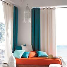 The Aprica window-treatment line is a linen look that comes in 20 colors ranging from neutrals to brights. softlineonline.com