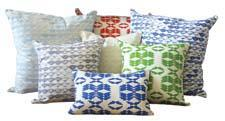 The company is debuting a group of handprinted pillowcases in cheerful colors and designs. burrowandhive.com