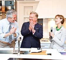 House Beautiful's Sean Sullivan, Newell Turner and Kate Kelly Smith introduce the Kitchen of the Year.