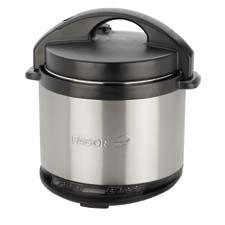 Fagor's new 4-quart electric multicooker combines both a pressure cooker and a slow cooker in one dishwasher-safe device. fagoramerica.com