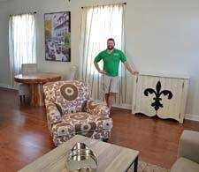Cody Hutcheson, CODARUS and ART conference co-chair, in a completed room.