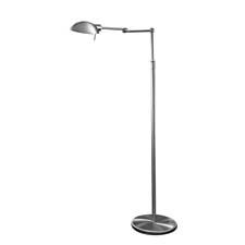 For this LED floor lamp, Holtkoetter transformed a directional light source into a radial light source, creating a glare- and shadow-free light. The lamp includes the Dimm-System*P1 proprietary dimming system. holtkoetter.com