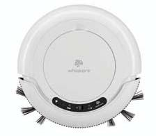 Floor Care: The Whiskers DSV Robotic Vacuum, a robotic vacuum, dusts, sweeps and vacuums hard floors at the touch of a button. dirtdevil.com