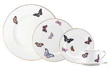 Marchesa's Spring Allure by Lenox is decorated with trend-right butterflies. lenox.com