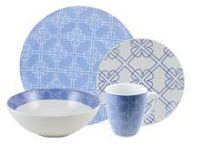 Chloe dinnerware in blue