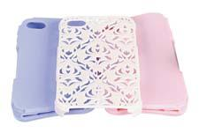 Tech Candy cases allow iPhone 4 users to combine fashion and function in one with its three-piece sets: two different colored soft, silicone inner wraps and a hard, protective outer shell made of polycarbonate.