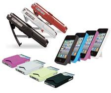 A new collection of iPhone cases from Mizco International's iEssentials division promises to make the iPhone even more chic. This group of cases comes in a variety of colors, and all of the cases are compatible with the iPhone 4 and iPhone 4S.