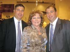 Ross Raymond of Lifetime Brands, Beth Pacocha of Dillard's and Jeff Zunik of Lifetime Brands.