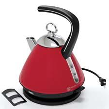 The Ekettle, the company's entry into the electric-kettle category, offers the look of a stovetop kettle. chantal.com