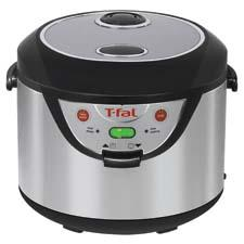 The Rice & Multi-Cooker, with menus for rice, steam and slow cooking, is part of the brand's Balanced Living line. tefal.com