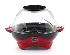 The Stir Crazy Deluxe Popcorn Popper features a removable popping tray for quick popping, easy handling and simple cleanup. westbend.com