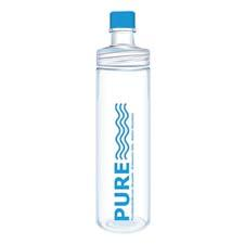 Pure Glass Bottle combines the purity of glass with a permanent clear protective outer coating that is BPA free, for shatter and impact resistance. pureglassbottle.com