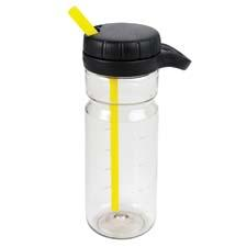 The OXO Good Grips LiquiSeal Twist water bottle has a large opening for ease of filling or adding ice, a soft, non-slip carrying loop and convenient measurement markings. oxo.com