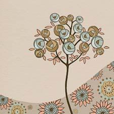 Showing in the Crown Mark showroom, Classy Art Wholesalers will debut Expresso Botanical by Kate Knight, a giclee on canvas that measures 50 inches square. classyart.net