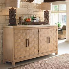 Lexington Home Brands brings upscale Aussie style to Las Vegas with the Tommy Bahama-branded Road to Canberra Collection. lexington.com