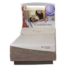 The iMattress collection is made with an open-cell memory foam fused with gel spheres, plus technology to provide a cool night's sleep. kingkoil.com
