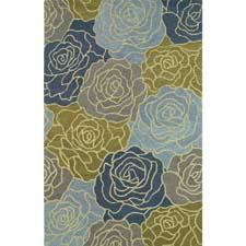 Kaleen's new Botany collection is a blend of large textural high/low designs for a three-dimensional effect including Fennel 4405 here.  kaleen.com