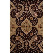 Surya's new Crowne collection of handtufted wool rugs is made in India. surya.com