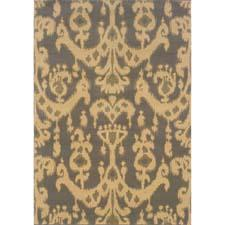 Oriental Weavers' Stella machine-made collection is colored in tonal shades of gray with pops of golden citrus. owsphinx.com