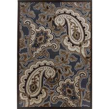 The Fables collection from Jaipur is machine-tufted of polyester and chenille in Turkey. jaipurrugs.com
