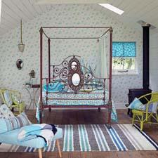 The Country ensemble is a fully coordinated bedroom look geared for Spring. designersguild.com